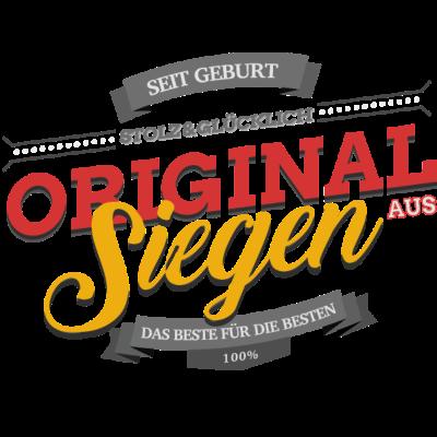 Original aus Siegen - Original aus Siegen - triumphal sein (über),Siegenerin,Siegener,Siegen