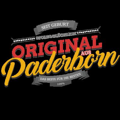 Original aus Paderborn - Original aus Paderborn - Paderbornerin,Paderborner,Paderborn