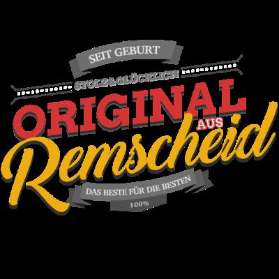 Original aus Remscheid - Original aus Remscheid - Remscheiderin,Remscheider,Remscheid