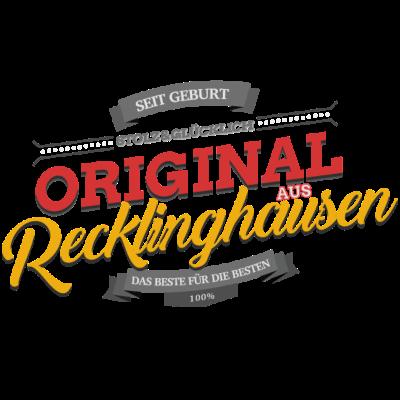 Original aus Recklinghausen - Original aus Recklinghausen - Recklinghausenerin,Recklinghausener,Recklinghausen