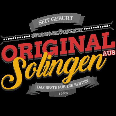 Original aus Solingen - Original aus Solingen - Solingenerin,Solingener,Solingen