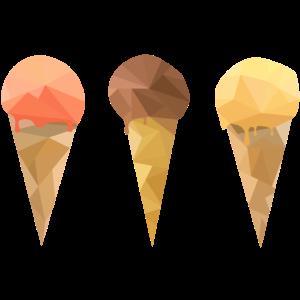 Low Poly Icecream