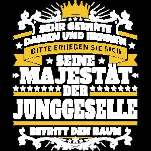 Seine Majestät der Junggeselle