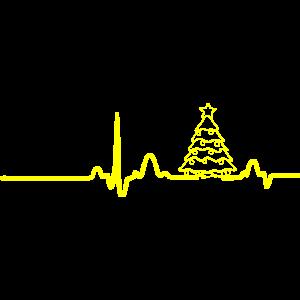 EKG CHRISTMAS gelb