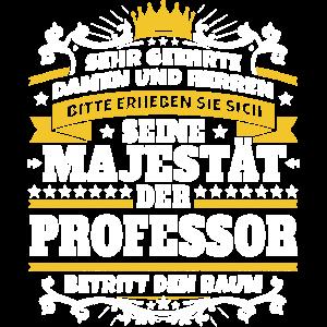 Seine Majestät der Professor