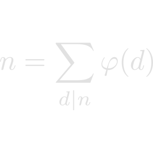 Euler phi