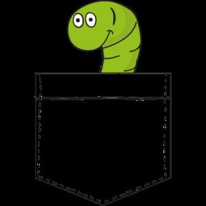 Pocket-Wurm