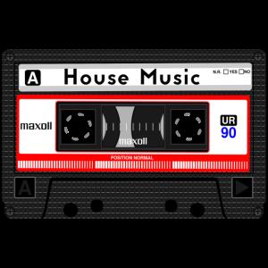 HOUSE MUSIC KASSETTE
