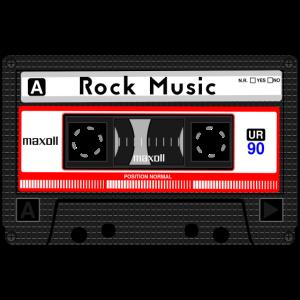 ROCK MUSIC KASSETTE