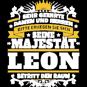 Seine Majestät Leon