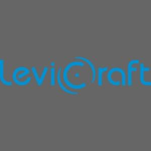 LeviCraft Logo, blau