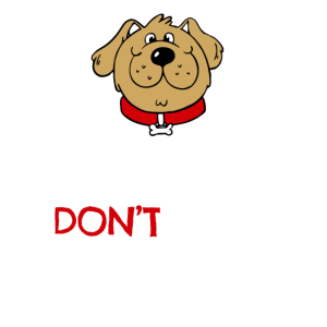 Pet adoption Tshirt (Adopt Don't Shop - Dog)