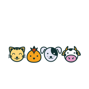 I Love Animals T-Shirt for Vegans and Vegetarians