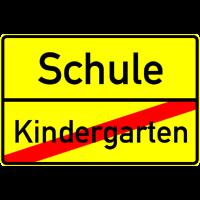 Einschulung: Schule, Kindergarten Ende