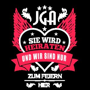JGA-Frauen-Feiern