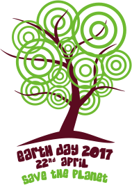 Sprüche- Kult- & Fun-Shirt: Earth day 2017 - Baum
