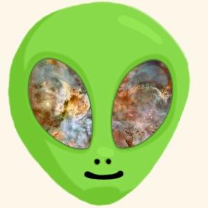 Alien hoofd 1