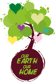 Sprüche- Kult- & Fun-Shirt: Our Earth Our Home
