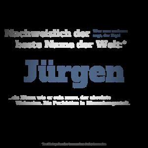 Ich bin Jürgen - Jürgen als Vorname