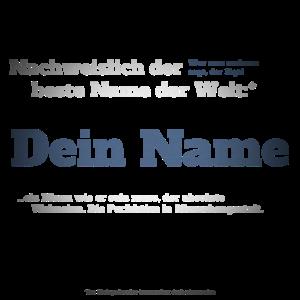 Ich bin Dein Name - Dein Name als Vorname