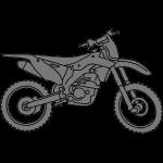 Motocross Motorrad 2