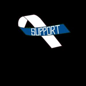 Zeigen Sie Unterstützung für ALS