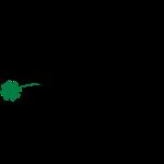 Schaf mit Kleeblatt