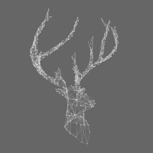 Deer head hertenkop gewei