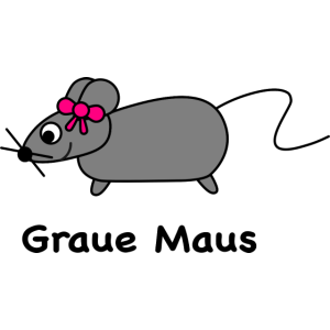 Graue Maus