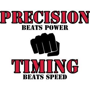 Precision beats power-2