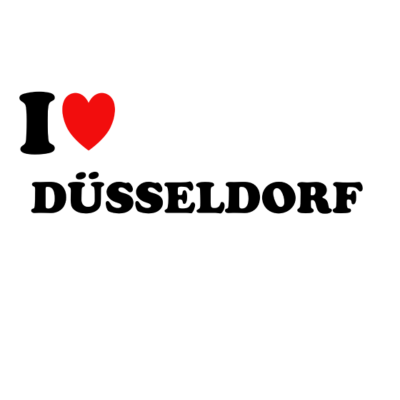 I Love Düsseldorf - I LOVE DÜSSELDORF - Stadt,Hauptstadt,Düsseldorfer,Düsseldorf