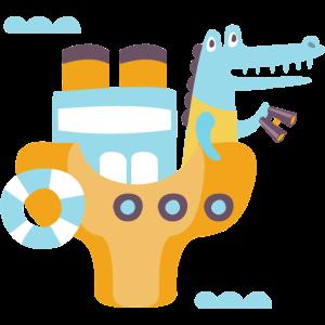 Kinder Alligator