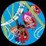 Themeparkrides: Rollercoaster
