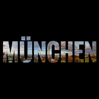 City Skyline München - City Skyline München - bayerische Metropole,bayerische Landeshauptstadt,Münchenerin,Münchener,München,Bayernmetropole,089