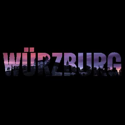 City Skyline Würzburg - City Skyline Würzburg - Würzburgerin,Würzburger,Würzburg,0931