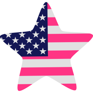 USA-Flagge Stern