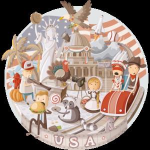 USA Emblem