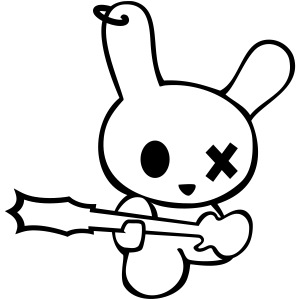 Rocking Bunny bunnies are the new rockstars hase