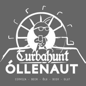 Õllenaut Turbahunt in white