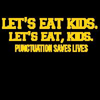 Satzzeichen können Leben retten lustige Sprüche