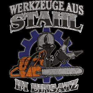 Rettungsdienst Werkzeuge aus Stahl im Einsatz