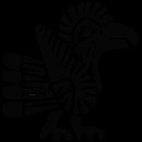 Alter mexikanischer Vogel