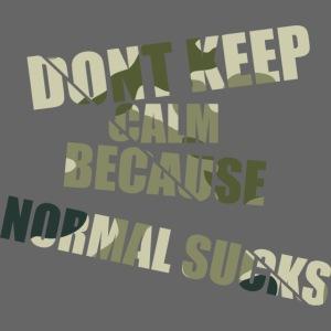 Normal sucks moro