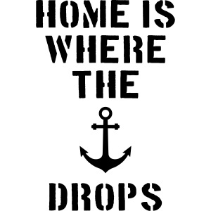 home is where the anchor drops Anker Hamburg