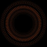 Mandala Braun