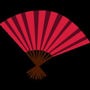 Asiatischer Handfächer