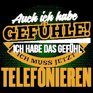 TELEFONIEREN - Ich habe auch Gefühle
