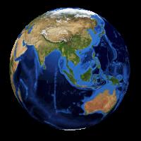 Weltkugel / Globus
