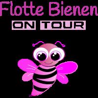 Flotte Bienen on Tour
