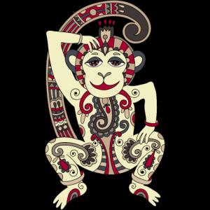 Aztekischer Affe